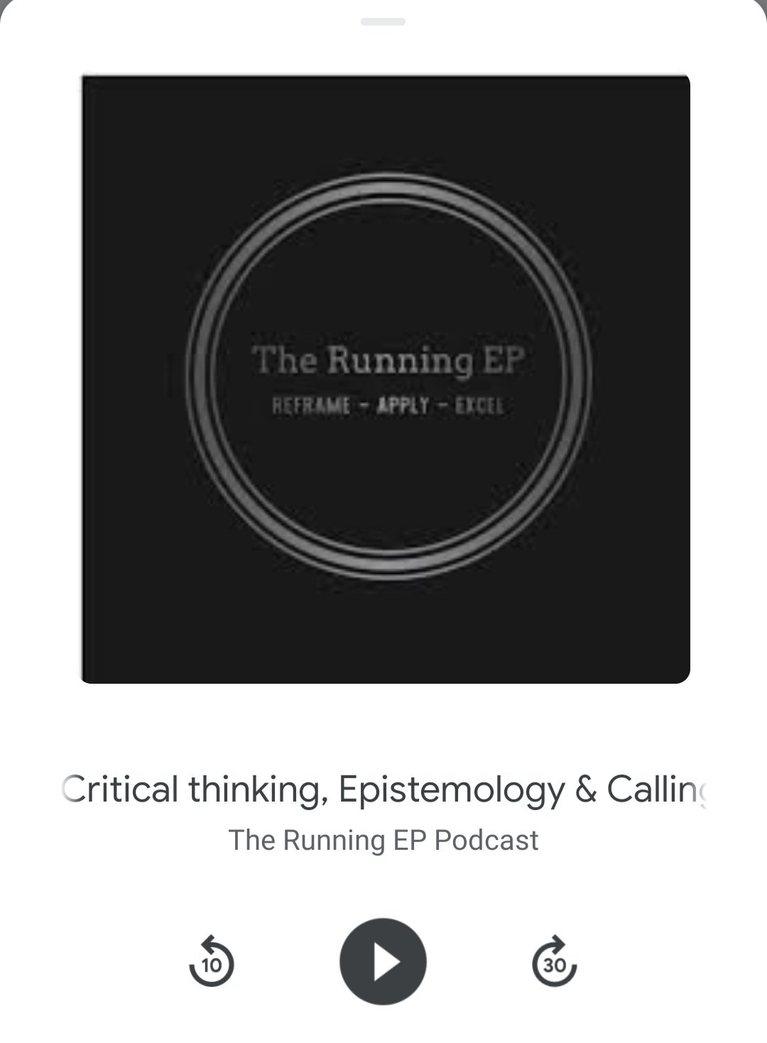 Critical Thinking, Epistemology and Calling out BS in the Scientific Literature – Running EP Podcast